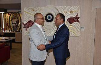 Başkan Akın, Büyükşehir Belediye Başkanı Ergün ile Buluştu