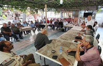 Başkan Bilgin, Ekibiyle Birlikte Tam Kadro Sahada