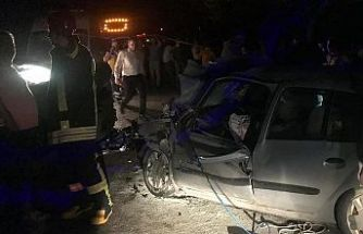Gördes-Demirci yolunda meydana gelen kazada şok gelişme...!