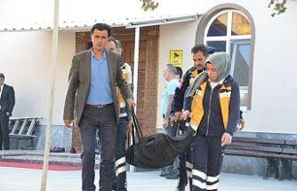 Demirci'deki bir camide erkek cesedi bulundu