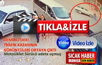 Demirci'deki kazanın görüntüleri ortaya çıktı ! iŞTE O GÖRÜNTÜLER