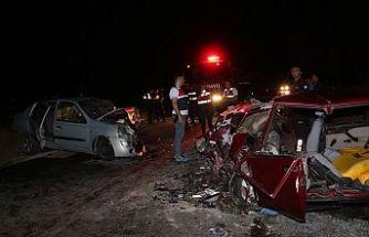 Feci Kazada 12 yaşındaki kız öldü 6 kişi yaralandı