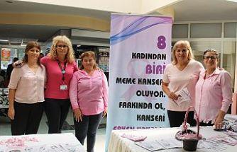 Her 8 kadından birisi meme kanseriyle yüzleşiyor