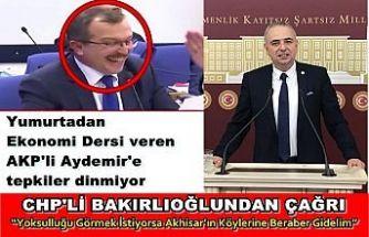 """AKP'li Aydemir'e Tepki """"Yoksulluğu Görmek İstiyorsa Akhisar'ın Köylerine Beraber Gidelim"""""""