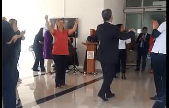 Alaşehir Devlet Hastanesinde yeni skandal görüntüler! Hastanede Cümbüş Var