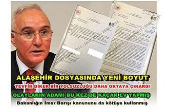 """Diker """" Bakanlığın İmar Barışı Kanununu bile kötüye kullanmışlar"""""""