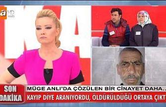 Kayıp adamın eşinin sevgilisi tarafından öldürüldüğü Müge Anlı'nın programında ortaya çıktı