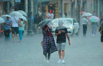 Yağış Geliyor Hava Sıcaklığı Düşecek