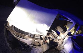 Demirci'deki kazada can pazarı yaşandı 7 yaralı