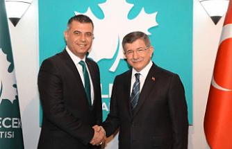 Manisa Gelecek Mustafa Keskin'e Emanet Edildi