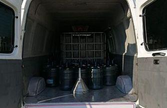 Jandarmadan Operasyon 1000 Litre Kaçak Mazot Ele Geçirildi