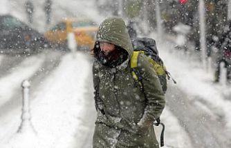 Sağanak yağış, kar, fırtına uyarısı