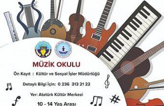 Turgutlu Belediyesinden Müzik Okulu ve Konservatuvara Hazırlık