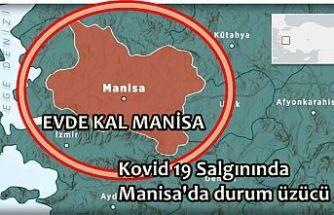 """Koronavirüsü Manisa'da 2 can aldı Vaka sayısı artıyor! """"Evde Kal Manisa"""""""