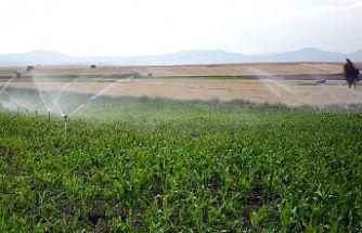 28 Bin Dekar Tarım Arazisi Sulanmaya Başlandı