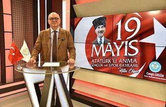 Başkan Ergün'den 19 Mayıs Mesajı