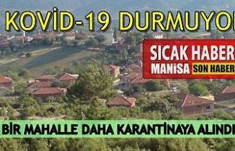 Kovid-19 Salgınından Bir Mahalle Daha Karantinaya Alındı