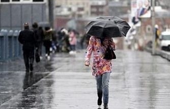 Meteoroloji Saat Verdi ve Uyardı Dikkat ! Kuvvetli yağış