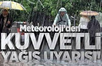 Dikkat! Kuvvetli Yağış Bekleniyor