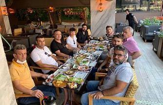 Basın Mensuplarına Ottoman'da Kahvaltı Verildi