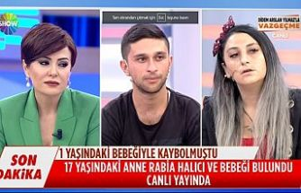 Adapazarı'nda kaybolan anne ve oğlunu Didem Arslan Yılmaz 1 saatte Ankara'da buldu!