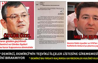 """CHP Demirci Teşvikli İlçe İşinin Peşini Bırakmıyor """" Bu Fırsatı Demirci İlçesine Döndüremez İsek, Kaybedenler Kulübü Oluruz"""""""