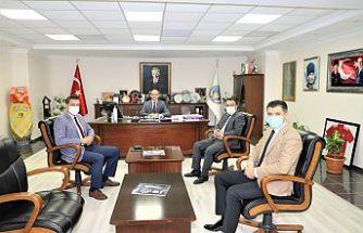 Manisa Büyükşehir Belediyesi Genel Sekreteri Aytaç Yalçınkaya'dan Başkan Akın'a Ziyaret