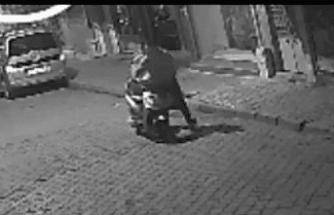 Motor Hırsızlığı Kameralara Böyle Yansıdı