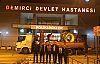 Acar ve ekibi Demirci Devlet Hastanesinin vizyonunu değiştirdi
