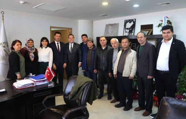 İYİ Parti İlçe Teşkilatı'ndan, Başkan Dutlulu'ya ziyaret