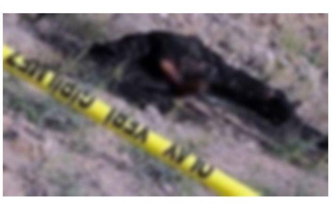 Yangına giden itfaiyeciler yanmış erkek cesedi buldu