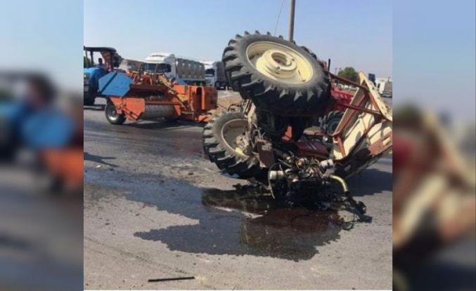 Kavşakta çarpışma 1'i ağır 2 kişi yaralandı