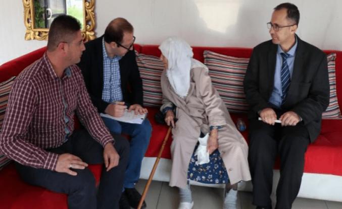 Sokağa terk edilen yaşlı kadın artık huzur dolu bir evde yaşayacak