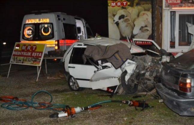 Feci kazada 1 kişi öldü 1 kişi yaralandı