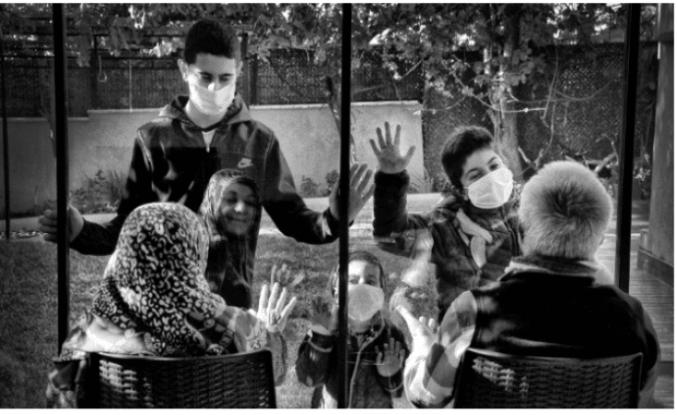 Pandemiyi Fotoğrafladılar