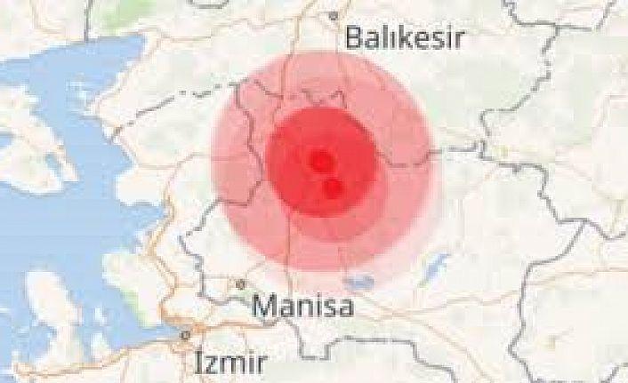 Deprem!  Manisa Sarsıldı!