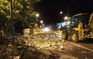 Son Dakika! Fırtına cami minaresini yıktı