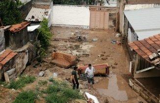 Saruhanlı'da Sel Felaketi