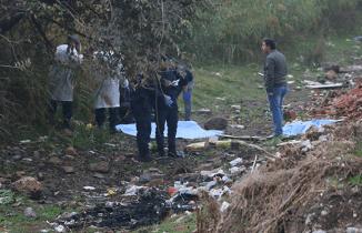 Manisa'da kolu kopuk erkek cesedi bulundu