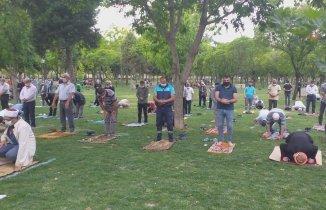 74 gün Sonra Turgutlu Irlamaz'da Cemaatle Cuma Namazı Kılındı