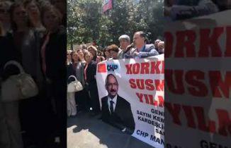 CHP Manisa Vali ve Bakan için istifa istedi